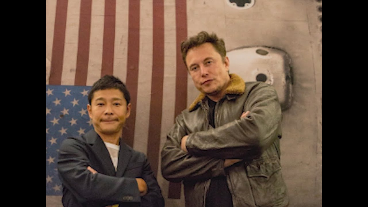First private citizen to head to the moon on SpaceX flightYusaku Maezawa heads to the Moon
