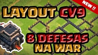 8 DEFESAS NA MESMA GUERRA !! PODE ISSO ARNALDO ?? Layout CV9 2016 !!!