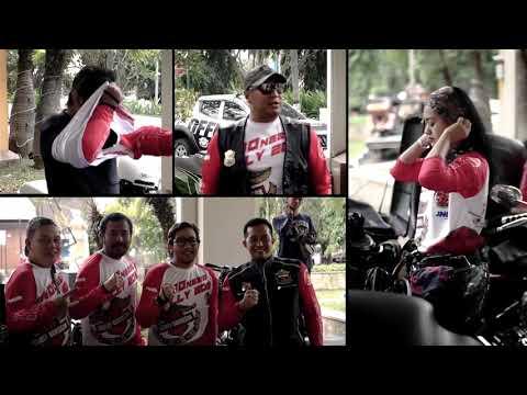 HDCI Surabaya Dan Rombongan Indonesia Rally 2019 Support Ngapak Bike Week 2019