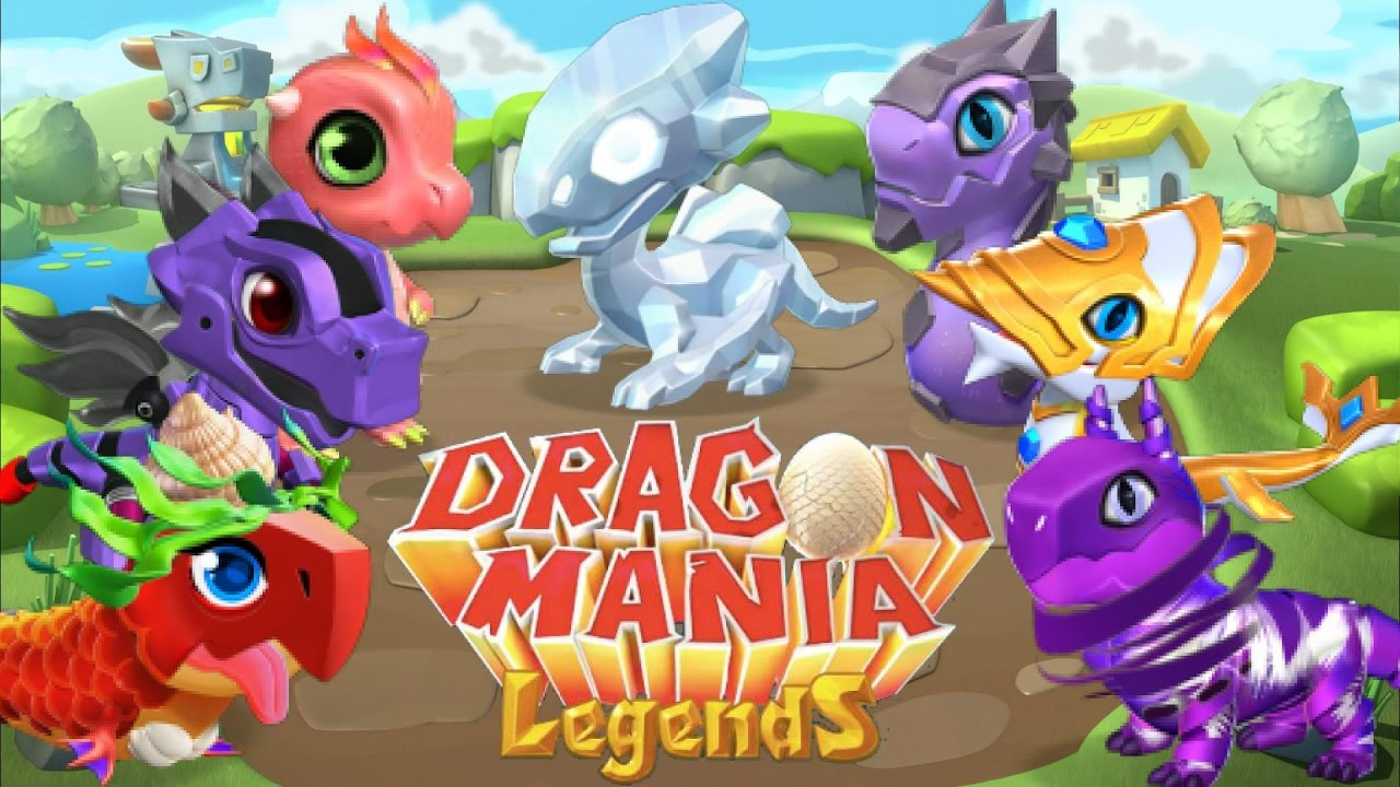 Dragon Legends: Hatching ALL Basic Legendary Dragons!