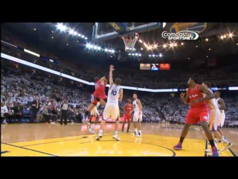 Blake Griffin flagrantly fouled by Ezeli 1/2/13 (flop or not?)