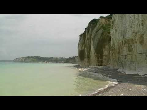France 2007 - White Cliffs And Beach Sounds 'steady' Cam