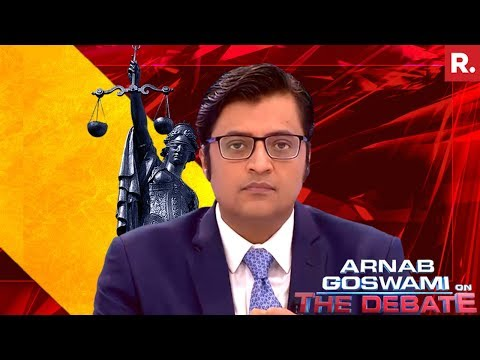 India's First Sting On Court Premises #CashForJustice | The Debate With Arnab Goswami