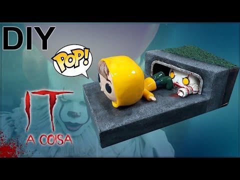 Tutorial como modelar FUNKO POP do zero (Diorama)- DIY IT: A COISA