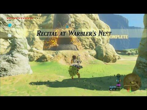 Zelda Breath of the Wild - SHRINE QUEST - Recital at Warbler's Nest