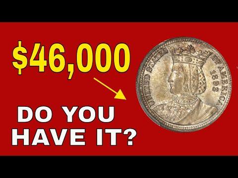 Rare Quarter worth good money! 1893 Isabella Quarter you should know about!