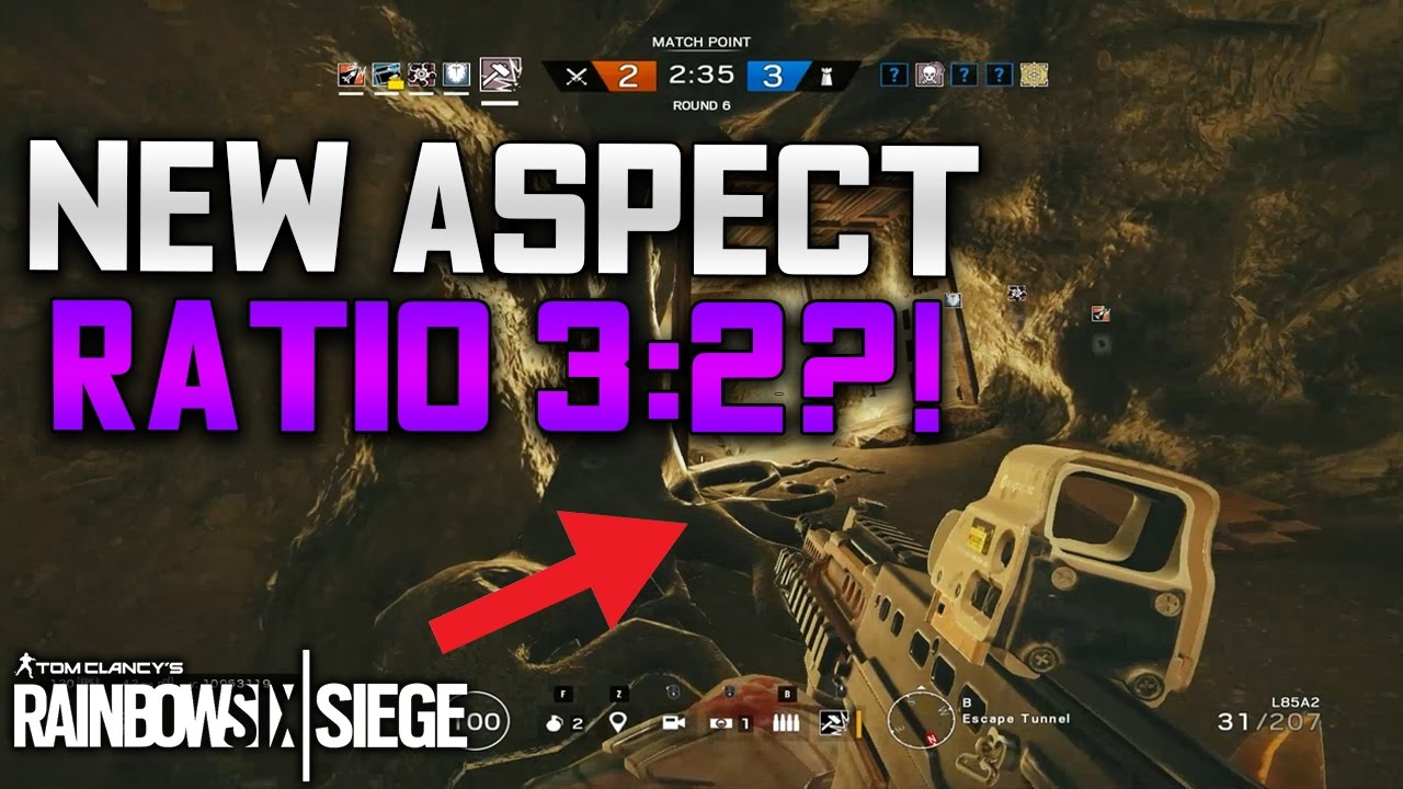 Is 3:2 the new Aspect Ratio? - Rainbow Six Siege: Velvet Shell