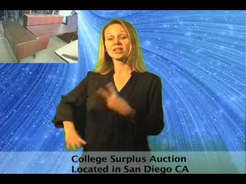 San Diego Community College Surplus Fire Safety Facility Online Auction