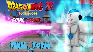 Going Final Form in World Tournament   Dragon ball Z Final Stand - Roblox
