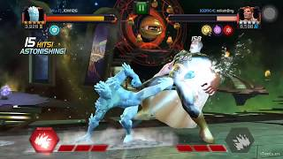 Marvel Contest of Champions - How to use iceman's ice armor This vi...