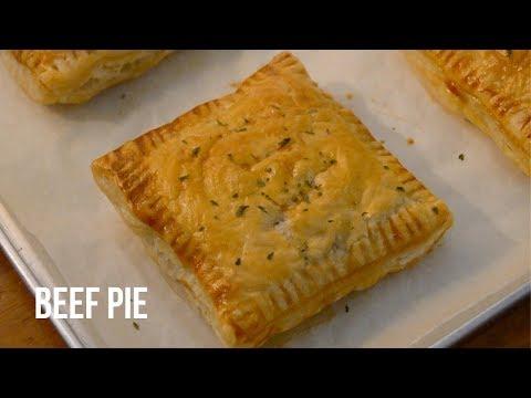 EASY BEEF PIE RECIPE (PUFF PASTRY PIE)