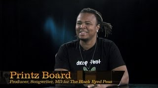 Printz Board, Producer and Musical Director for The Black Eyed Peas - Pensado