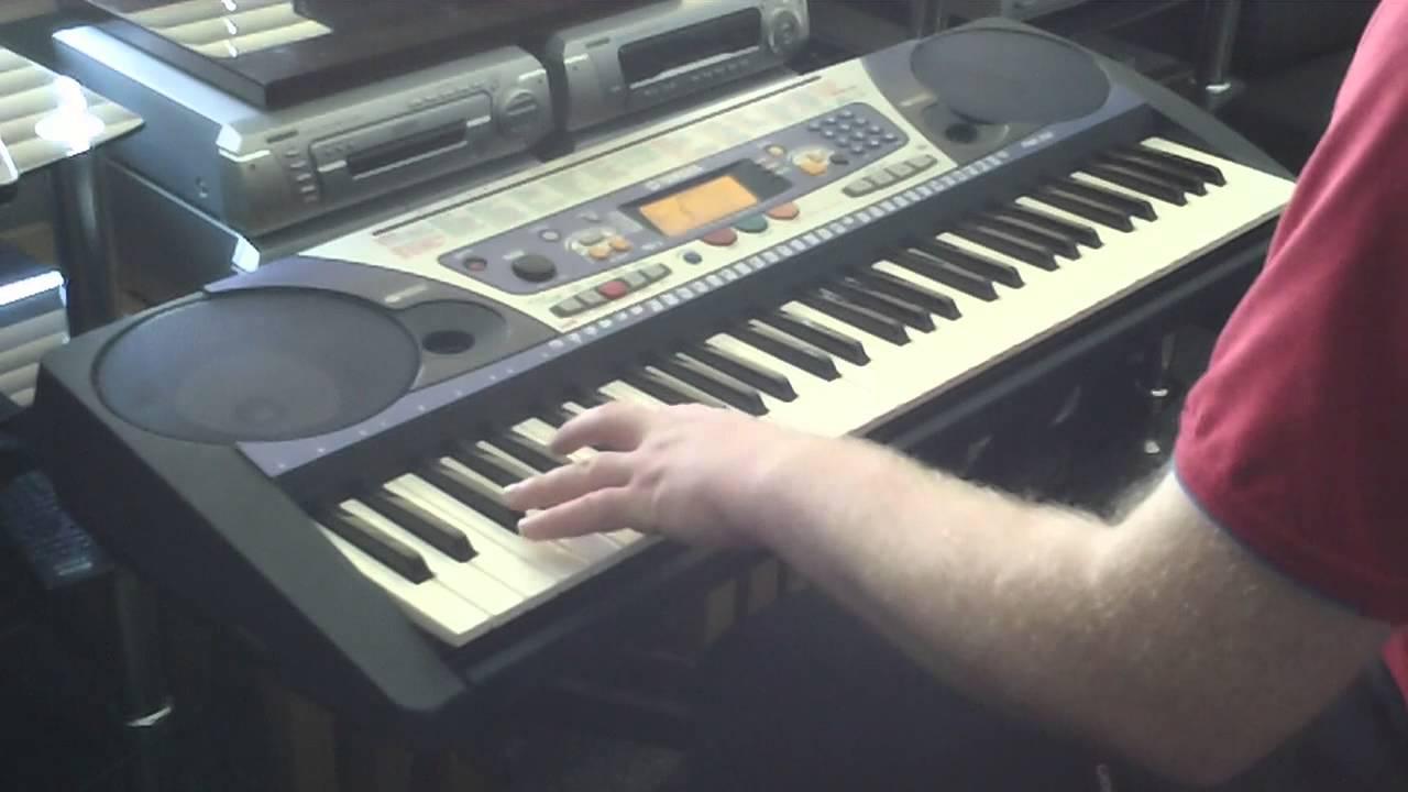 Yamaha psr 262 keyboard 100 accompaniment styles part 2 5 for Yamaha keyboard parts