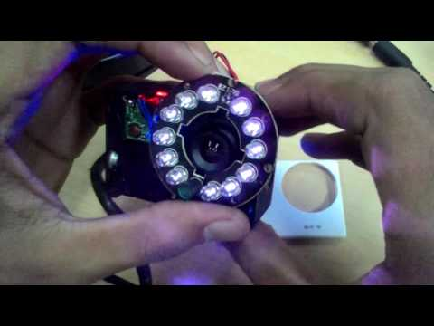 How To Make A Night Vision Camera