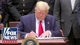 'The Five' applaud Trump for signing police reform mandate