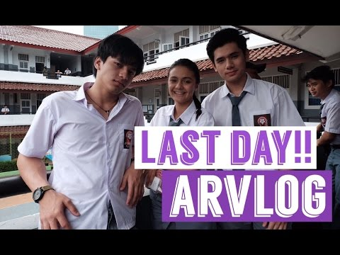 Last day shooting Dear Nathan!! T_T | #ARVLOG