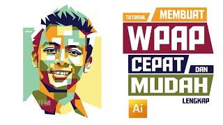 Cara membuat WPAP dengan menggunakan Adobe Illustrator CS3   Tutorial Adobe Illustrator CS3