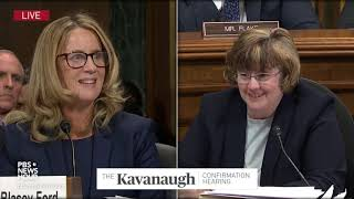 christine ford opening statement