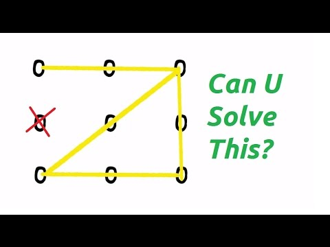 Number Names Worksheets connect the dots in 4 lines : Can u Solve this? Connect all 9 dots with 4 straight lines..II Mr ...