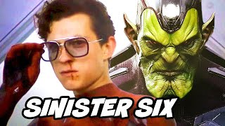 Spider-Man Far From Home Ending Scene - Sinister Six Teaser Easter Eggs Breakdown