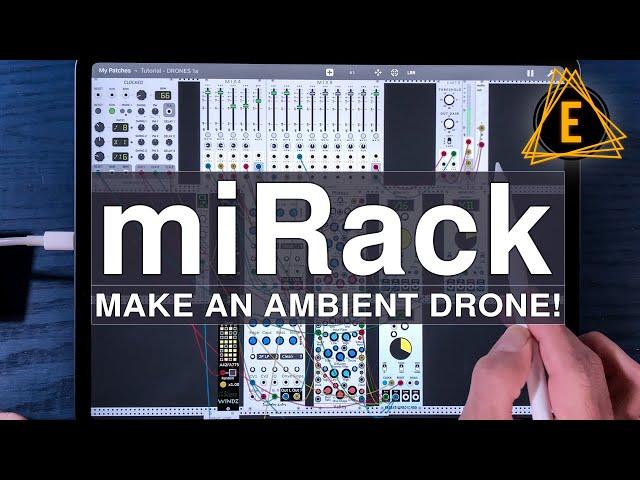 miRack - Make An Ambient Drone! - Beginner Friendly Tutorial!