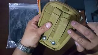 Pouch EDC Porta Celular táctico, militar,urbano,sistema MOLLE VENTAS CORDILLERA
