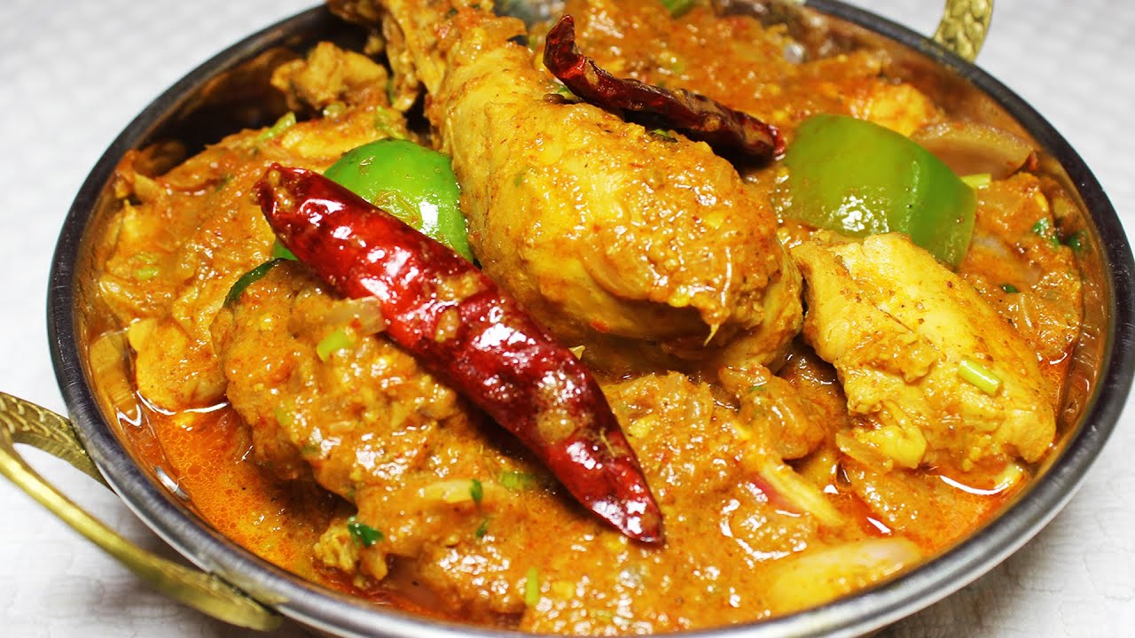 Kadai chicken easy to cook spicy indian non vegetarian recipe kadai chicken easy to cook spicy indian non vegetarian recipe main course kanaks kitchen youtube forumfinder Gallery