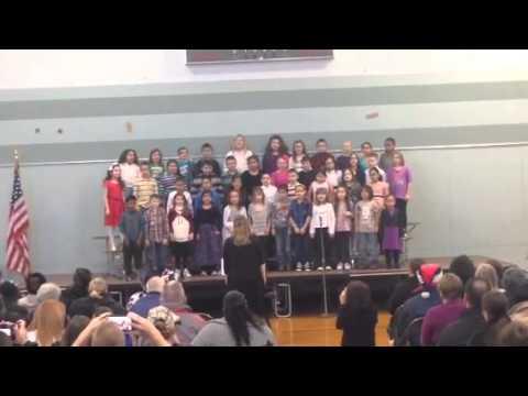 """""""Winter In America"""" - Amherst Street School - 2013"""