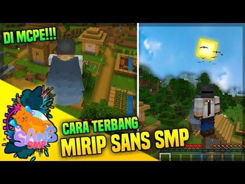 CARA MEMBUAT ELYTRA BISA TERBANG MIRIP SANS SMP DI MCPE!!!