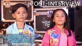 World Of Dance Philippines: Seandrei | Post-Interview