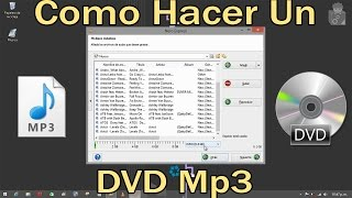 Como grabar o hacer un DVD Mp3