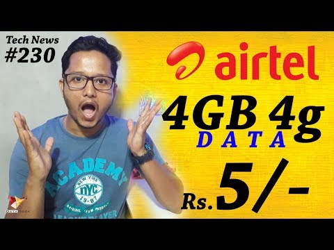 Tech News of The Day #230 - Airtel 5,Samsung Galaxy J7+,Nikon D850,ZOPO P5000,Alcatel Idol 5S