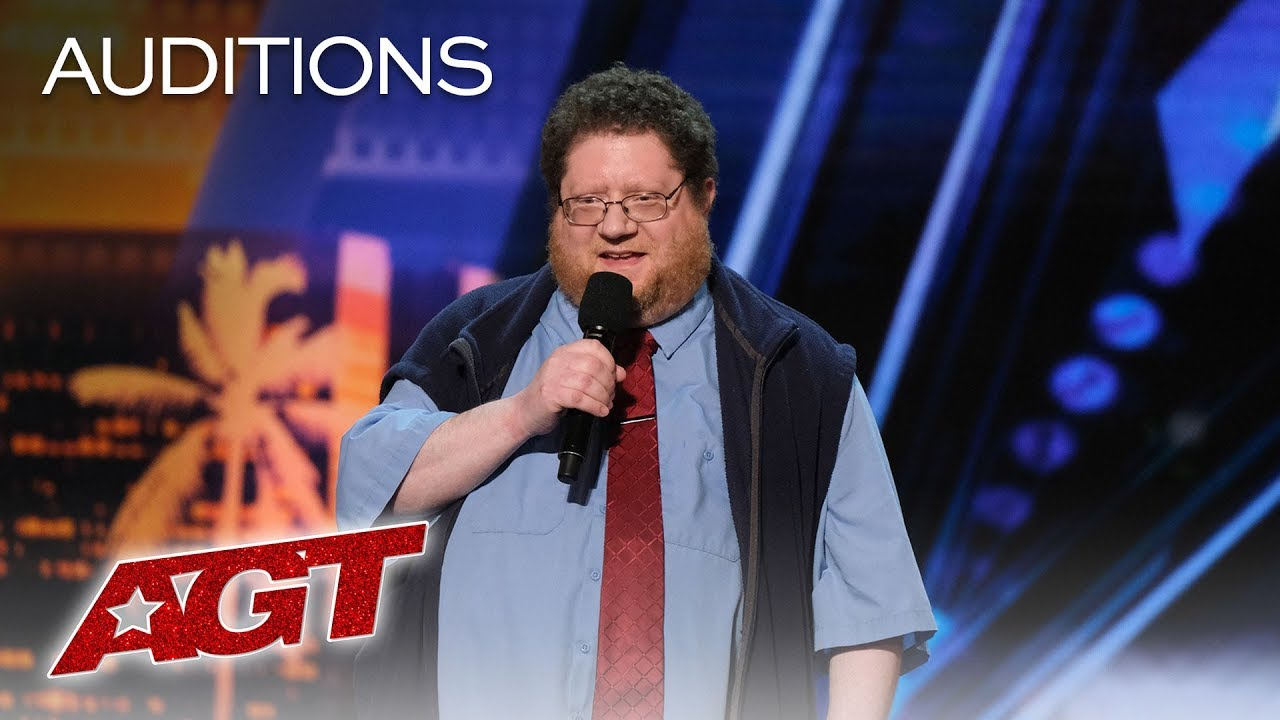 LOL!! The Best Puns From The King Of One Liners Kevin Schwartz - America's Got Talent 2019 image
