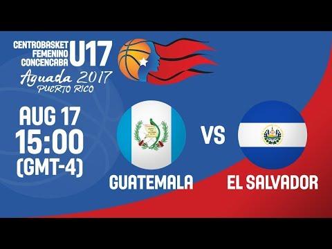 Guatemala v El Salvador - Full Game - Centrobasket U17 Women