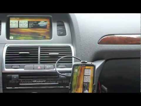 Dfe 31c Iphone And Android Phone Video Interface For Audi