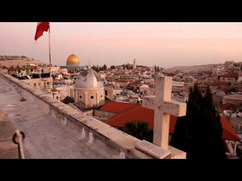 The Evening Call to Prayer in Old City Jerusalem
