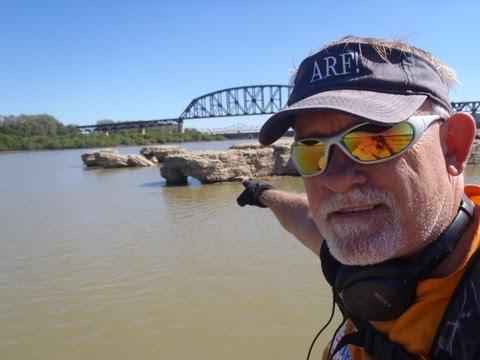 Kayaking on the Ohio River, 9.16.13