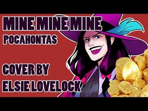 Mine Mine Mine - Disney's Pocahontas - Female Cover By Elsie Lovelock Ft. RedyyChuu
