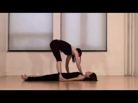 Yoga Stretch -  YOGA MASSAGE IN FINAL RESTING POSE