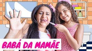 SARAH BRINCANDO DE BABÁ COM A MAMÃE - Pretend To Play Nanny!!