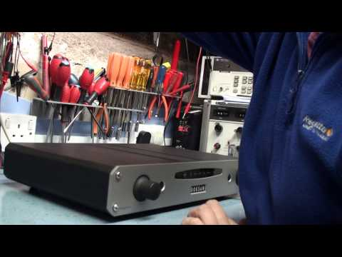 Fault finding a Roksan Caspian Integrated amp. First look