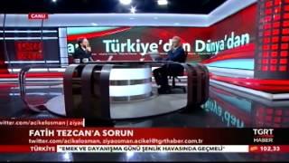 Fatih Tezcan: Hakkımı Helal Etmiyorum!