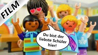Playmobil Film Deutsch - HANNAH EIFERSÜCHTIG AUF LEHRERIN! FRAU ZAHL LIEBT DAVE! Familie Vogel
