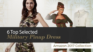 6 Top Selected Military Pinup Dress Amazon 2017 Collection