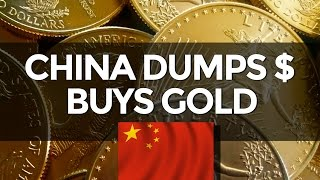 China Dumps Dollars To Buy Gold - Mike Maloney