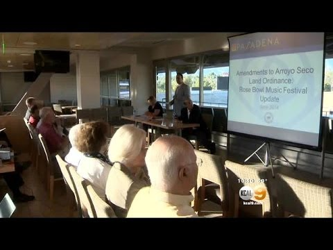 Residents Near Pasadena Rose Bowl Express Concern Over Proposed Music Festival
