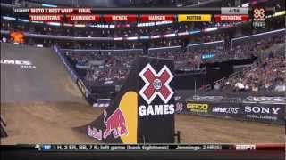 2012 X Games 18 Moto X Best Whip Contest HD