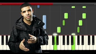 Drake Hotline Bling Piano Midi Tutorial For remix Cover Or Karaoke  midi New  dance