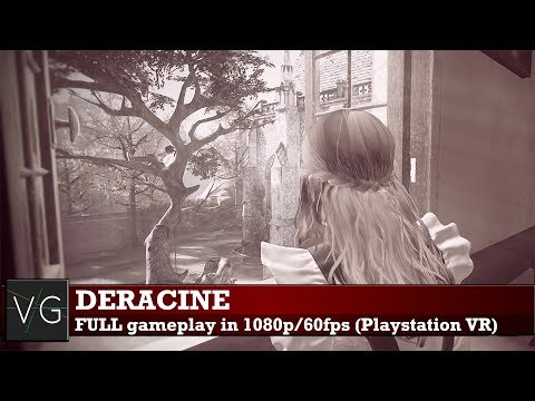 Deracine (PSVR) - FULL playthrough (gameplay) in 1080p. No commentary.