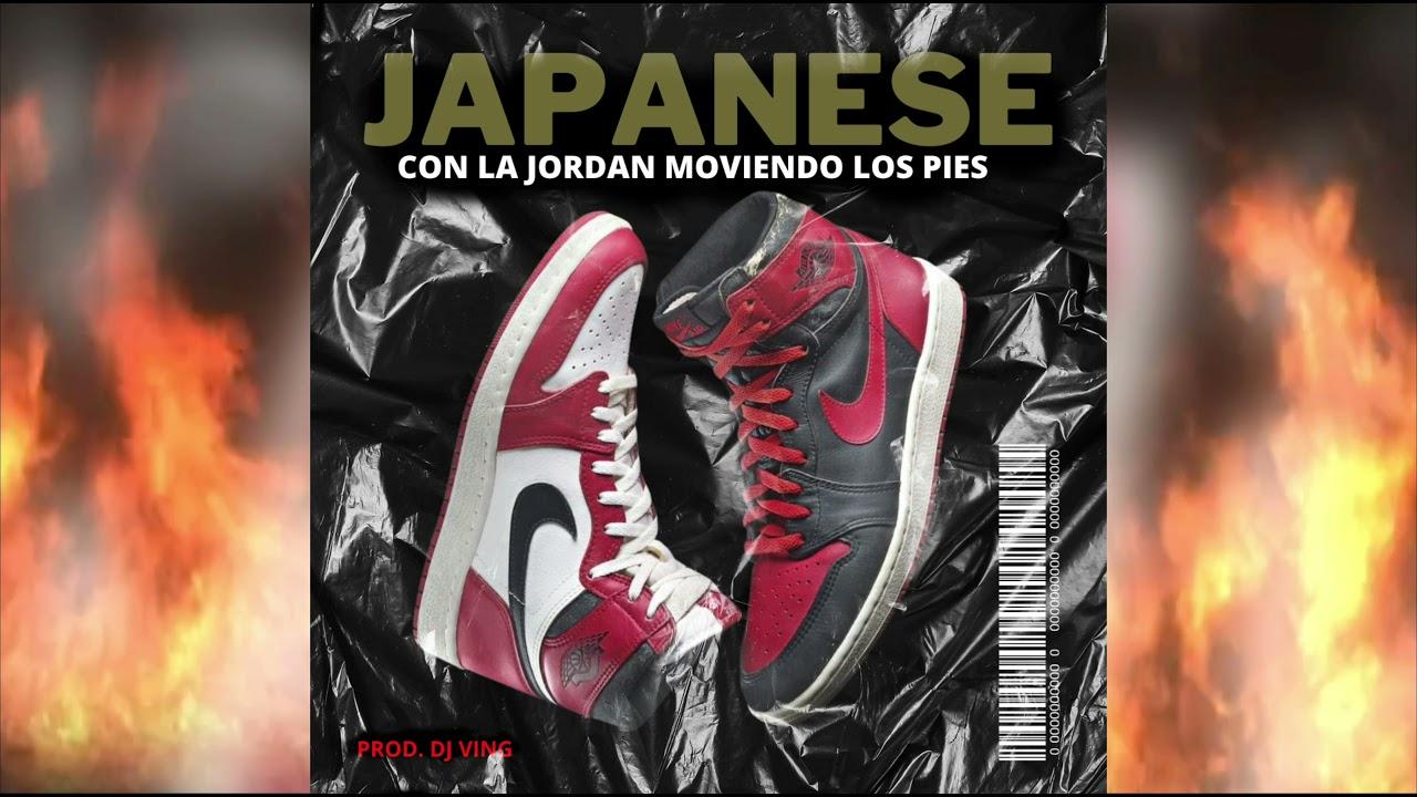 JAPANESE - CON LA JORDAN MOVIENDO LOS PIES (AUDIO OFICIAL)